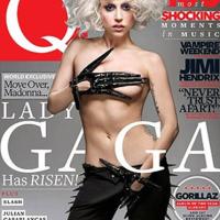 Lady Gaga sexy y algo más para la revista Q magazine