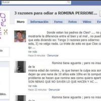 Romina Perrone: Una niña de 10 años es acosada en Facebook(ciber-bullying)