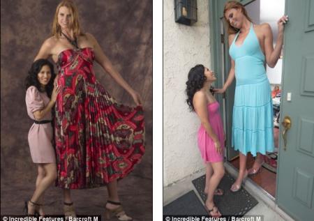 Eva: La modelo más alta del mundo