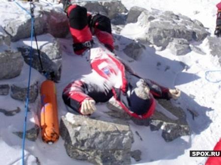 Los muertos del Everest...