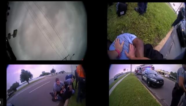 Un hombre negro en la ciudad de Oklahoma murió el año pasado después de afirmar en repetidas ocasiones que no podía respirar mientras estaba bajo custodia policial, según muestran los videos de la cámara del cuerpo recientemente revelados que usaron los agentes involucrados.